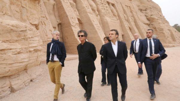 """Egypte: Macron va parler """"plus ouvertement"""" des droits humains"""