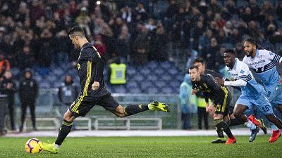 Calcio:Lazio-Juventus 1-2, +11 su Napoli
