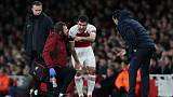 Arsenal's Sokratis out for a month with ankle problem