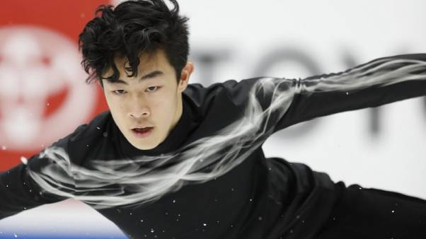 Stunning free skate gives Chen third U.S. title