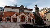 Daylight robbery - Russian police detain suspect after bold gallery heist