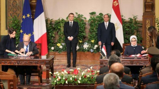 Au Caire, Macron et Sissi assument leurs désaccords sur les droits humains