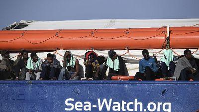 Stop navigazione mezzo miglio Sea Watch