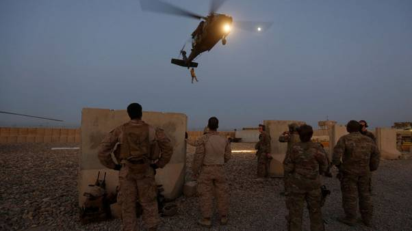 U.S. sees contours of peace accord with Taliban to end war in Afghanistan
