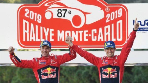 Rallye Monte-Carlo: avec Ogier, Citroën repasse la marche avant