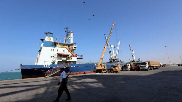 U.N. envoy urges Yemen combatants to withdraw from lifeline port