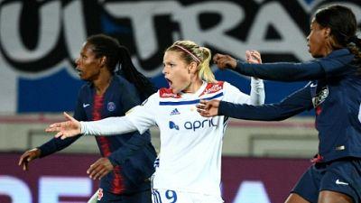 Coupe de France dames: choc OL-PSG dès les quarts