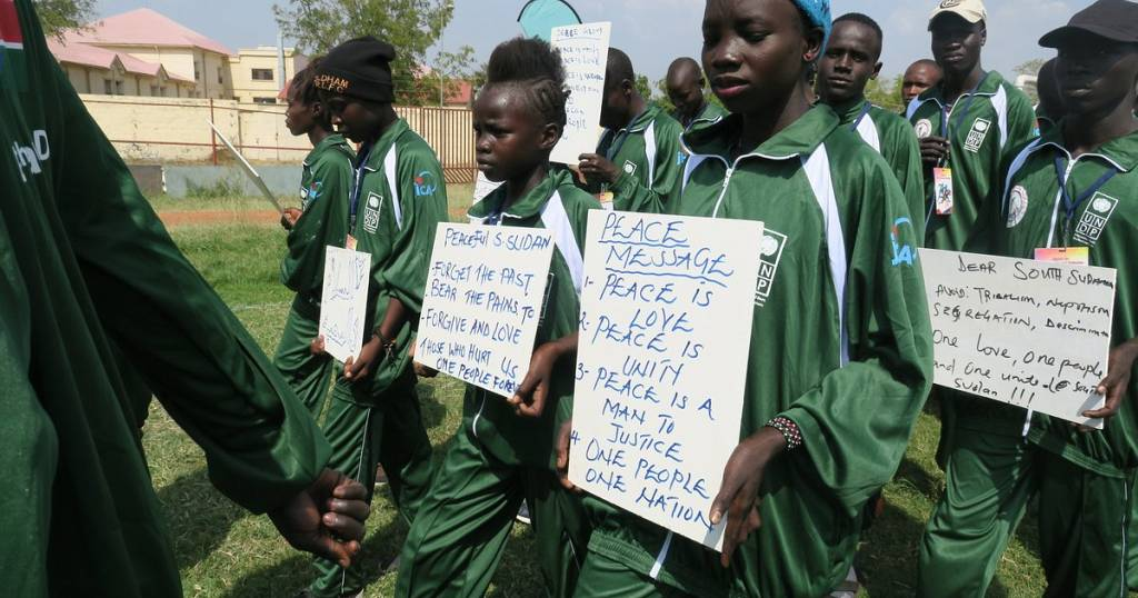 Young athletes come together in peace on National Unity Day in South Sudan   4f05202fcbe