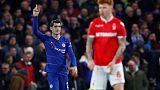 Chelsea striker Morata moves to Atletico on loan