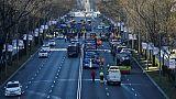 La police espagnole déloge les taxis qui poursuivent leur grève