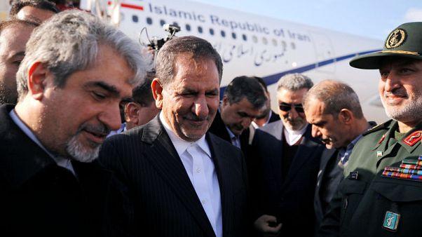 Iran strikes economic deals with Syria during VP visit