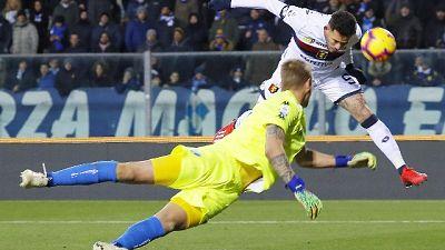 Calcio: il Genoa passa a Empoli