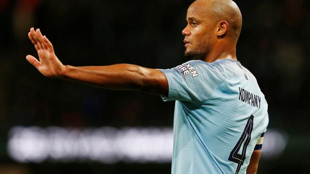 Kompany's Manchester City future uncertain, says Guardiola