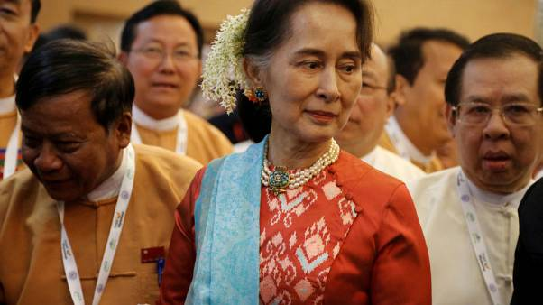 حزب سو كي في ميانمار يقترح لجنة لتعديل الدستور الذي كتبه الجيش