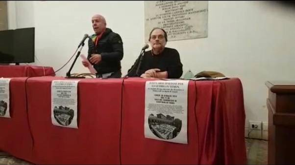 Fabbrica bombe, mobilitazione a Roma