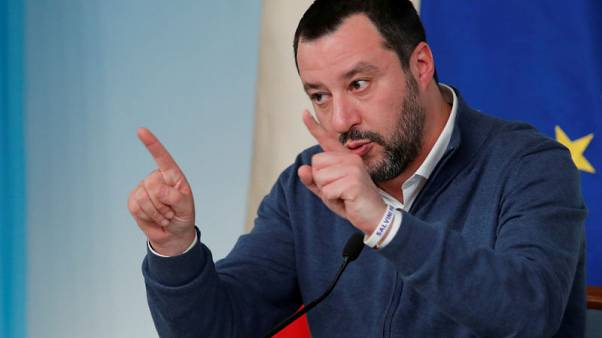 Italy's Salvini opposes migrant trial, puts ally in bind