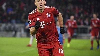 Calcio, Robben a fine anno in Giappone