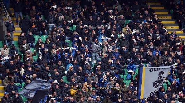 San Siro, targa in memoria tifoso Inter