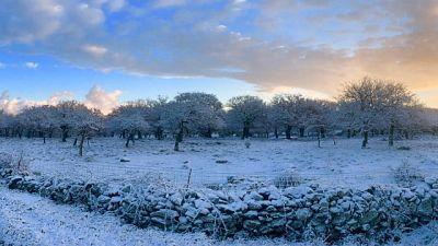 Allerta neve e forte vento in Sardegna