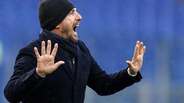 Coppa Italia,Di Francesco carica la Roma