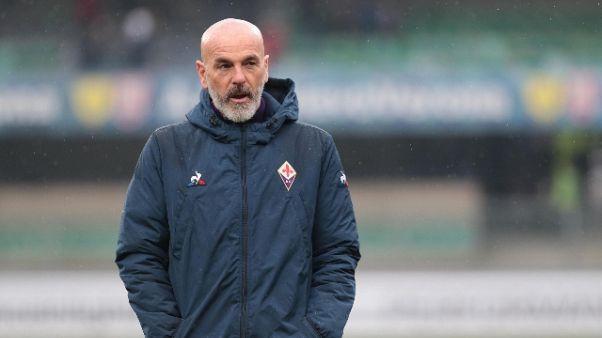 Fiorentina: Pioli, serve grande prova