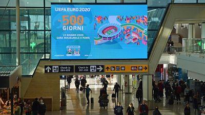 Al via a Fiumicino countdown Euro 2020