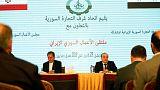 سوريا وإيران تبرمان اتفاقا يسمح بالتحويلات البنكية لتسهيل إعادة البناء