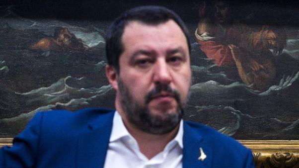 Salvini,sgomberi Roma, prima pericolanti