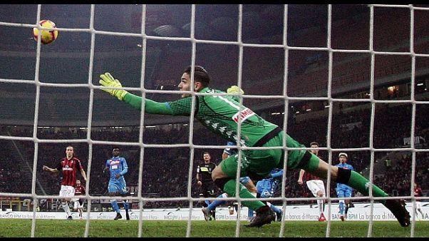 Coppa Italia: Milan-Napoli 2-0