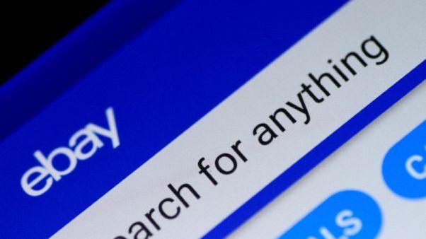 EBay unveils dividend, tops sales estimates for holiday quarter