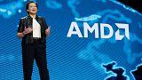 AMD reports record data centre revenue, shares jump