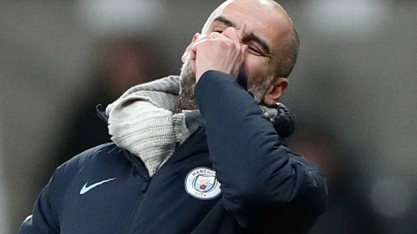 Manchester City suffer title blow at Newcastle, Solskjaer's winning run ends