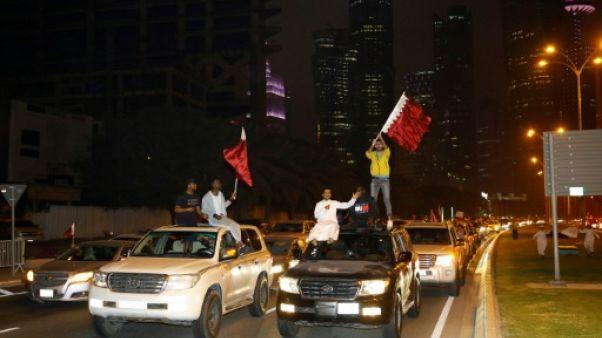 """Coupe d'Asie: le Qatar en liesse après l'historique qualification en finale, """"une revanche"""""""