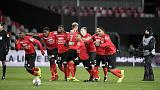 Guingamp beat 10-man Monaco to reach French League Cup final