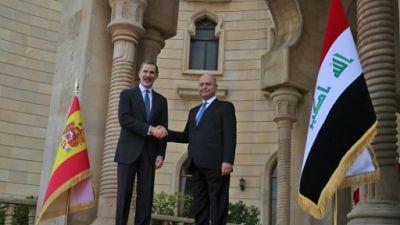 Le roi d'Espagne en Irak, une première en 40 ans