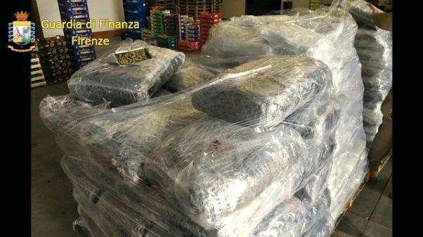 650 kg Coca sequestrati in porto Livorno