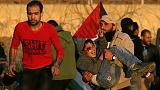 قصة صورة: حكاية صبي أصيب في اشتباكات غزة