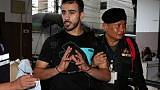 Wife of jailed Bahraini footballer begs Thai PM for his release