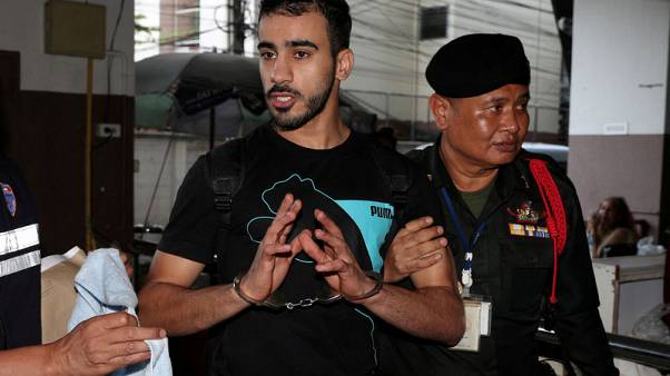 Wife of jailed Bahraini footballer begs Thai PM for his release