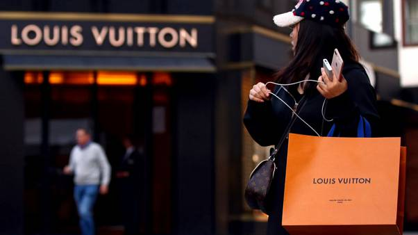 LVMH shares rally after strong annual results