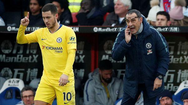 Hazard can leave Chelsea if he wants, says Sarri