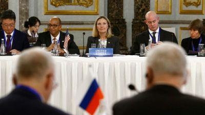 """Armes nucléaires: les Etats-Unis appellent Pékin et Moscou à la """"transparence"""""""