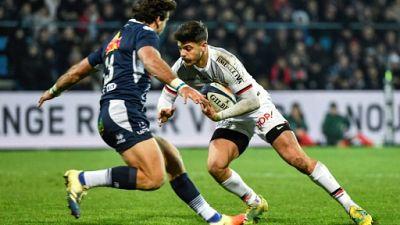 XV de France: la vitesse et jeunesse de Ntamack lancés d'entrée