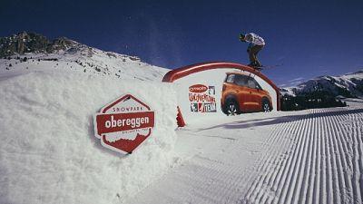 Obereggen capitale snowboard nazionale