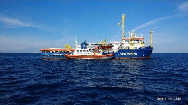 Migranti:Viminale,Sea Watch va a Catania