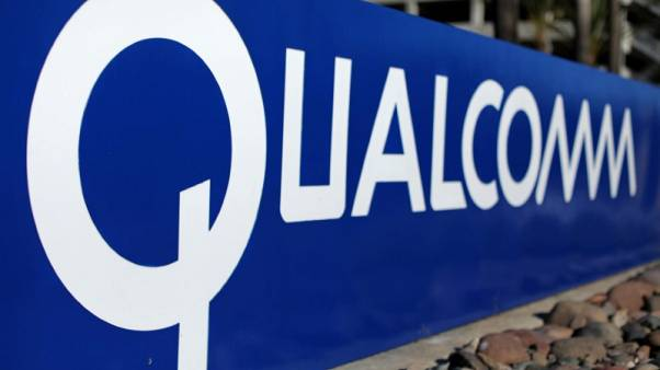 Qualcomm revenue forecast meets estimates, signs contract with Huawei