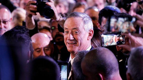 استطلاعات: جنرال إسرائيلي سابق يحقق مكاسب بعد أول خطاب في حملته الانتخابية