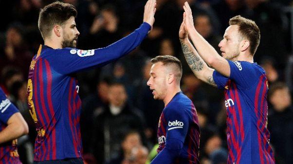 Coppa del Re: Barcellona-Siviglia 6-1