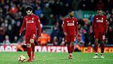 ليفربول يفشل في الاستفادة من سقوط سيتي ويكتفي بالتعادل
