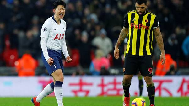 Son and Llorente strike late as Spurs beat Watford